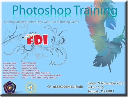 pelatihan photoshop