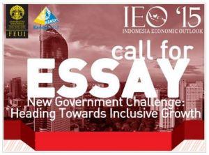 call for essay